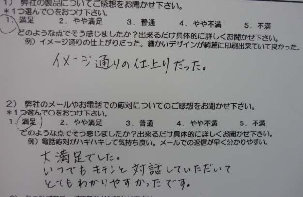 fukurou様アンケート